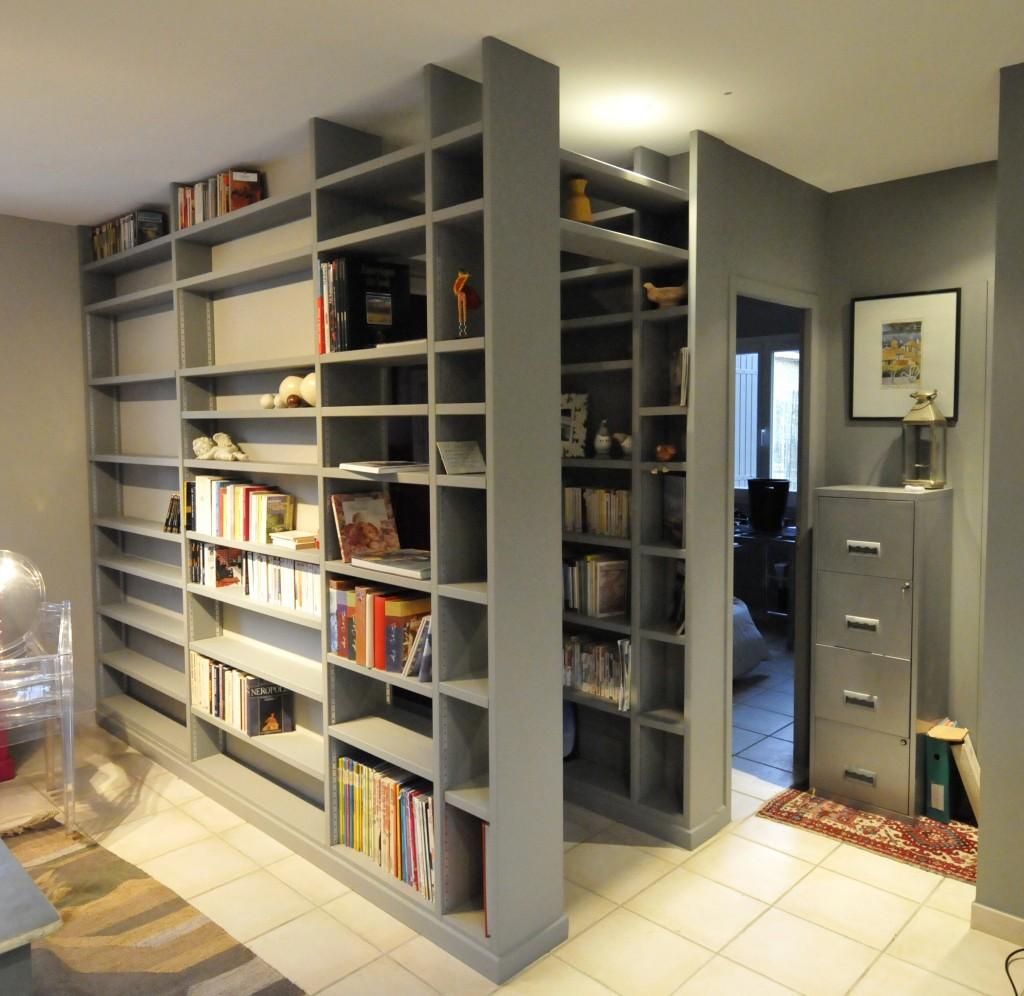 bibliothèque en médium