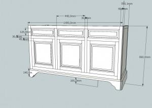 plan meuble